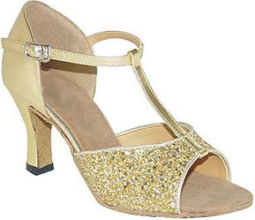 5bb1fd505bf5fa Tanzschuhe Gold  für den strahlenden Auftritt - Exclusive Dance Shoes